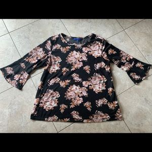Floral lightweight sweater by Apt. 9 - size Large
